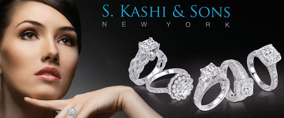 S. Kashi Engagement Rings available at Crown Jewelers in Augusta GA - S. Kashi - Homepage Banner