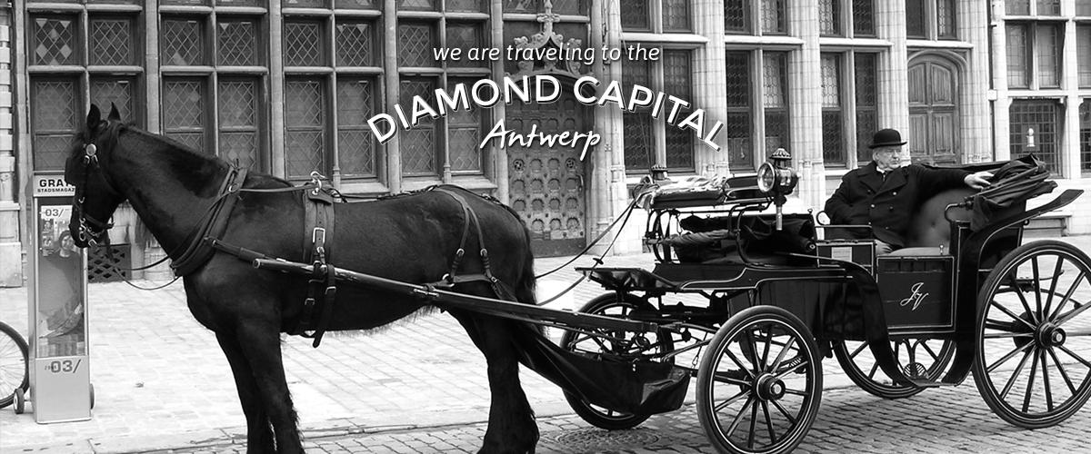 Traveling to Antwerp - We are traveling to the Diamond Capital - Antwerp Belgium