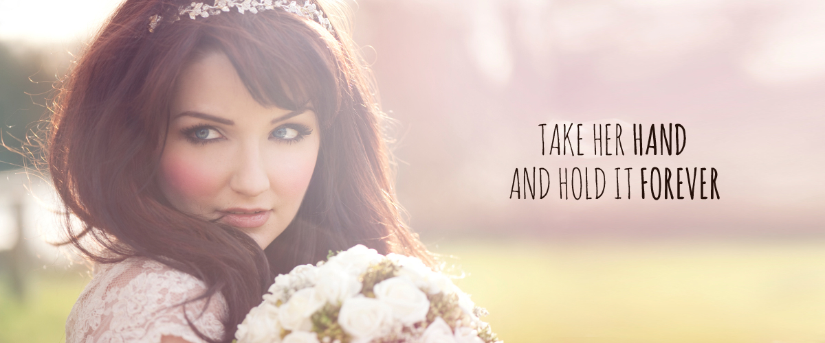 Bridal Jewelry - Take her hand and hold it forever