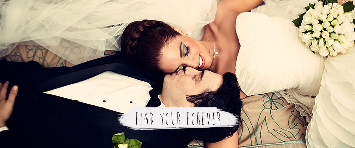 Find Your Forever - Bride & Groom - Find your forever