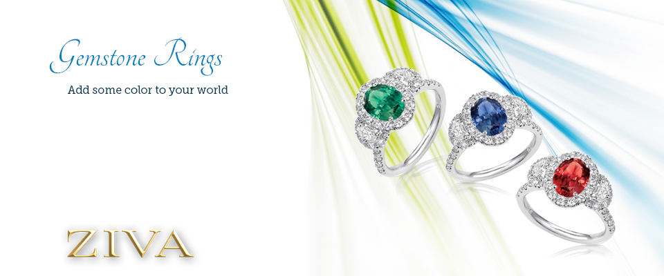 Gemstone Rings - Add some color to your world