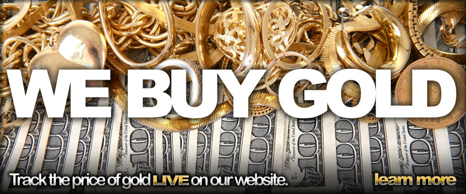 We Buy Gold - Track the price of gold live on our website.