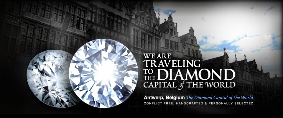 Traveling to Antwerp, Belgium - Generic Antwerp banner, which should link to your page about Antwerp Diamonds.