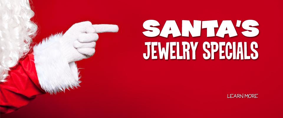Santa's Jewelry Specials - Santa's Jewelry Sales and Specials