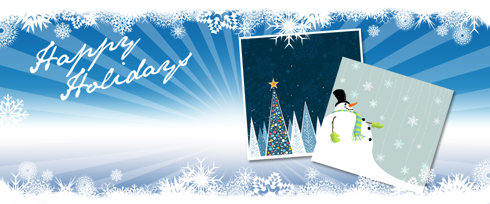 Happy Holidays - Standard Happy Holidays banner