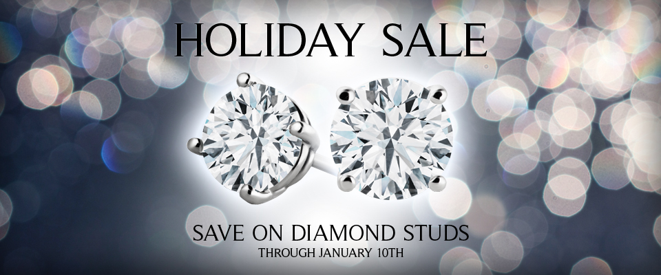 Holiday Sale - Holiday Sale / Now through Jan 10th / Diamond Studs