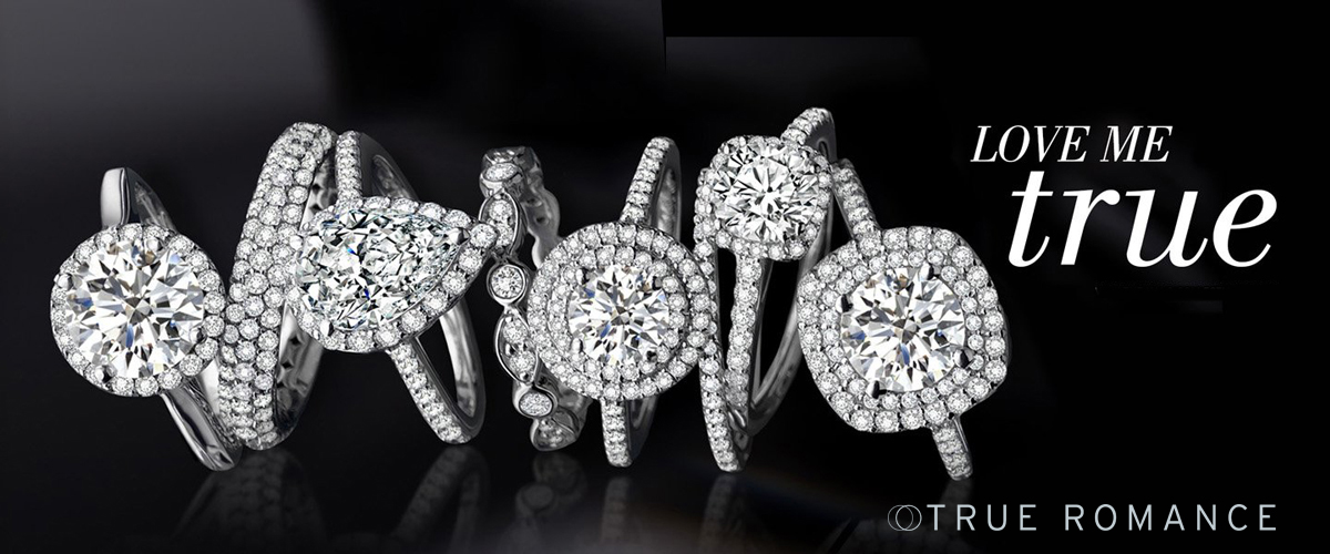 True Romance Engagement Rings -