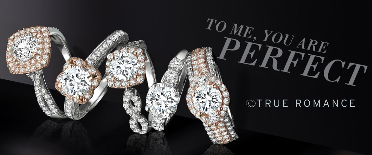 True Romance Engagement Rings -