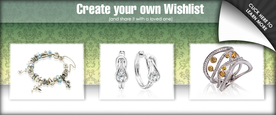 Wishlist - Create your own wishlist and share it with a loved one.