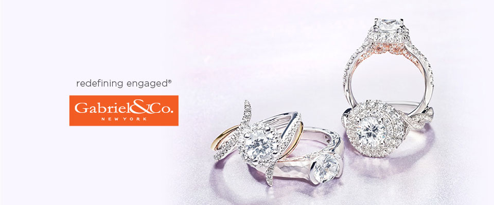 Gabriel & Co. Engagement Rings -